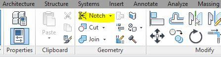 Revit > Notch